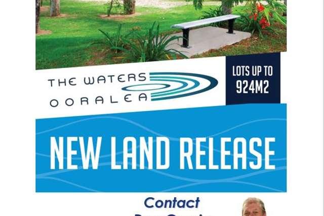 New Land Release- The Waters Ooralea, Ooralea QLD 4740