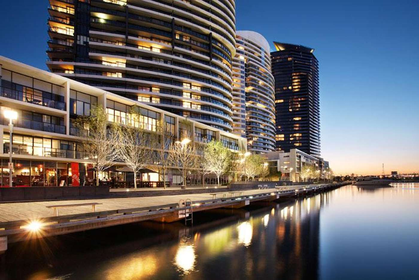 Main view of Homely apartment listing, 304/66 River Esplanade, Docklands VIC 3008
