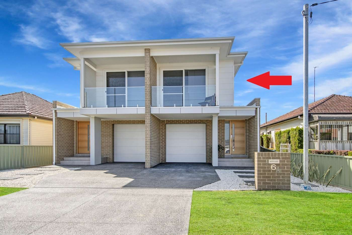 Main view of Homely townhouse listing, 6A Henley Street, New Lambton NSW 2305