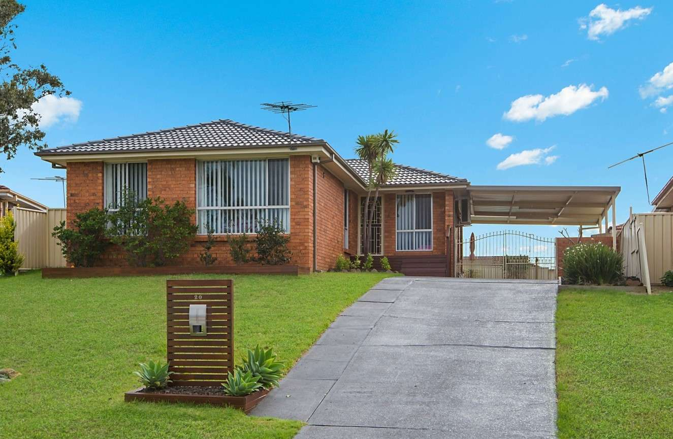 Main view of Homely house listing, 20 Fontana Close, St Clair, NSW 2759