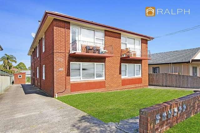 1-6 48 Cornelia Street, Wiley Park NSW 2195