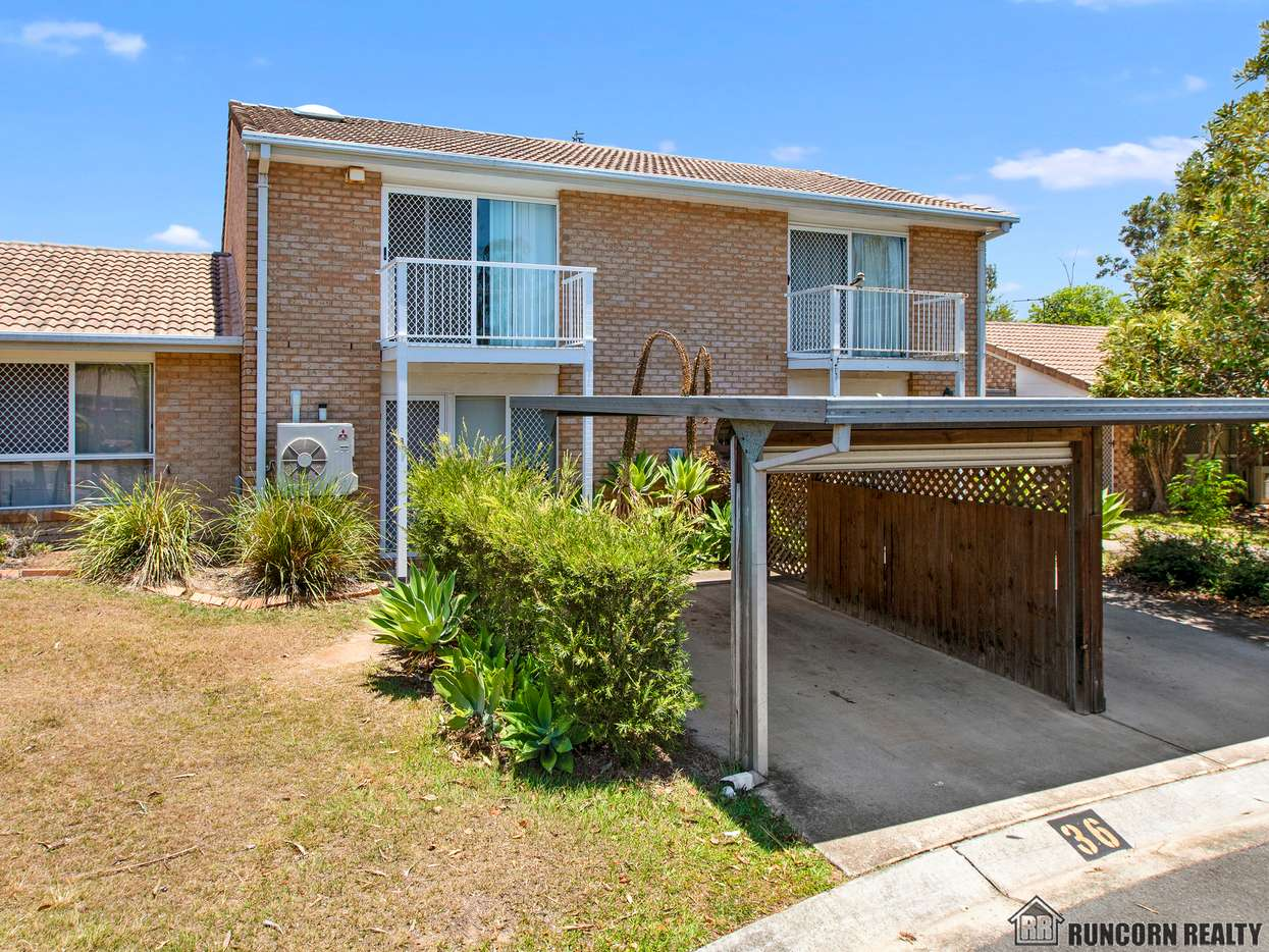 Main view of Homely townhouse listing, 36/30 Glenefer Street, Runcorn, QLD 4113