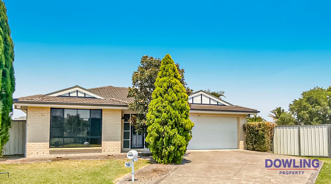 Main view of Homely house listing, 59 DANGAR CIRCUIT, Medowie, NSW 2318