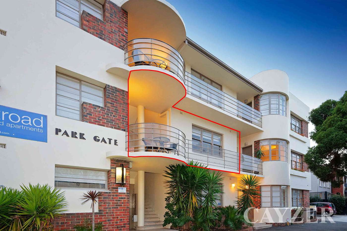 Main view of Homely apartment listing, 5/352 Albert Road, South Melbourne VIC 3205