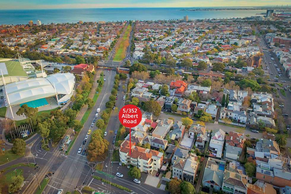 Second view of Homely apartment listing, 5/352 Albert Road, South Melbourne VIC 3205