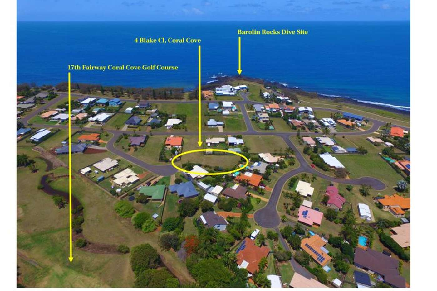Main view of Homely residentialLand listing, 4 Blake Close, Coral Cove QLD 4670