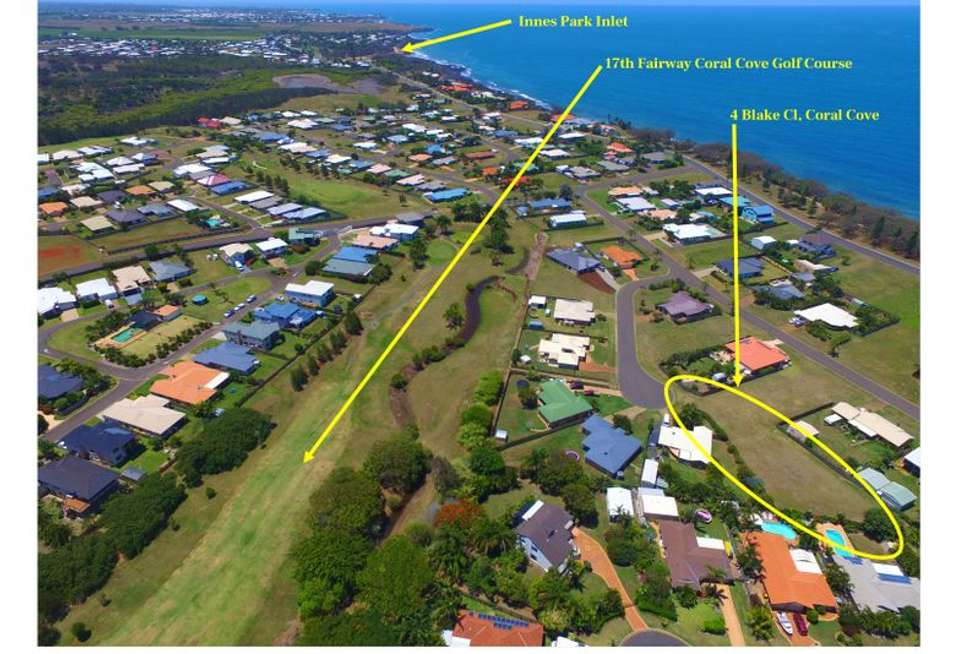 Fifth view of Homely residentialLand listing, 4 Blake Close, Coral Cove QLD 4670