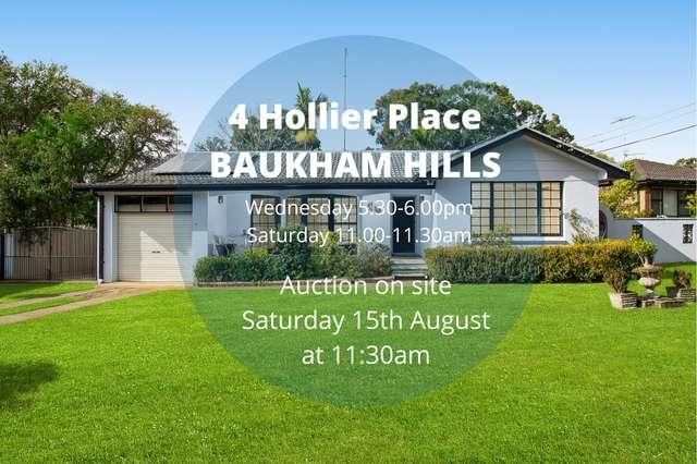4 Hollier Place, Baulkham Hills NSW 2153