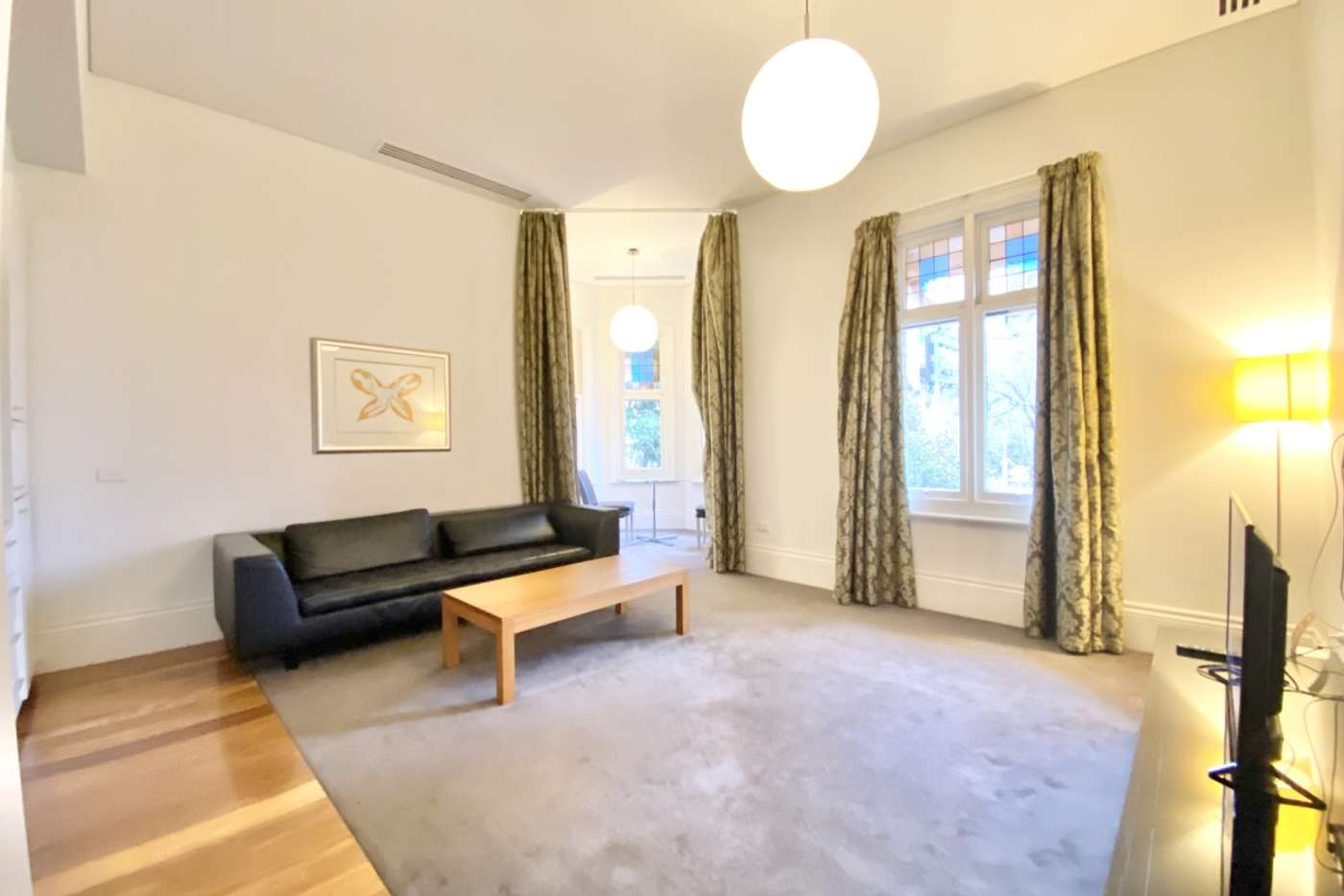 Main view of Homely apartment listing, 201/572 St Kilda Road, Melbourne VIC 3004