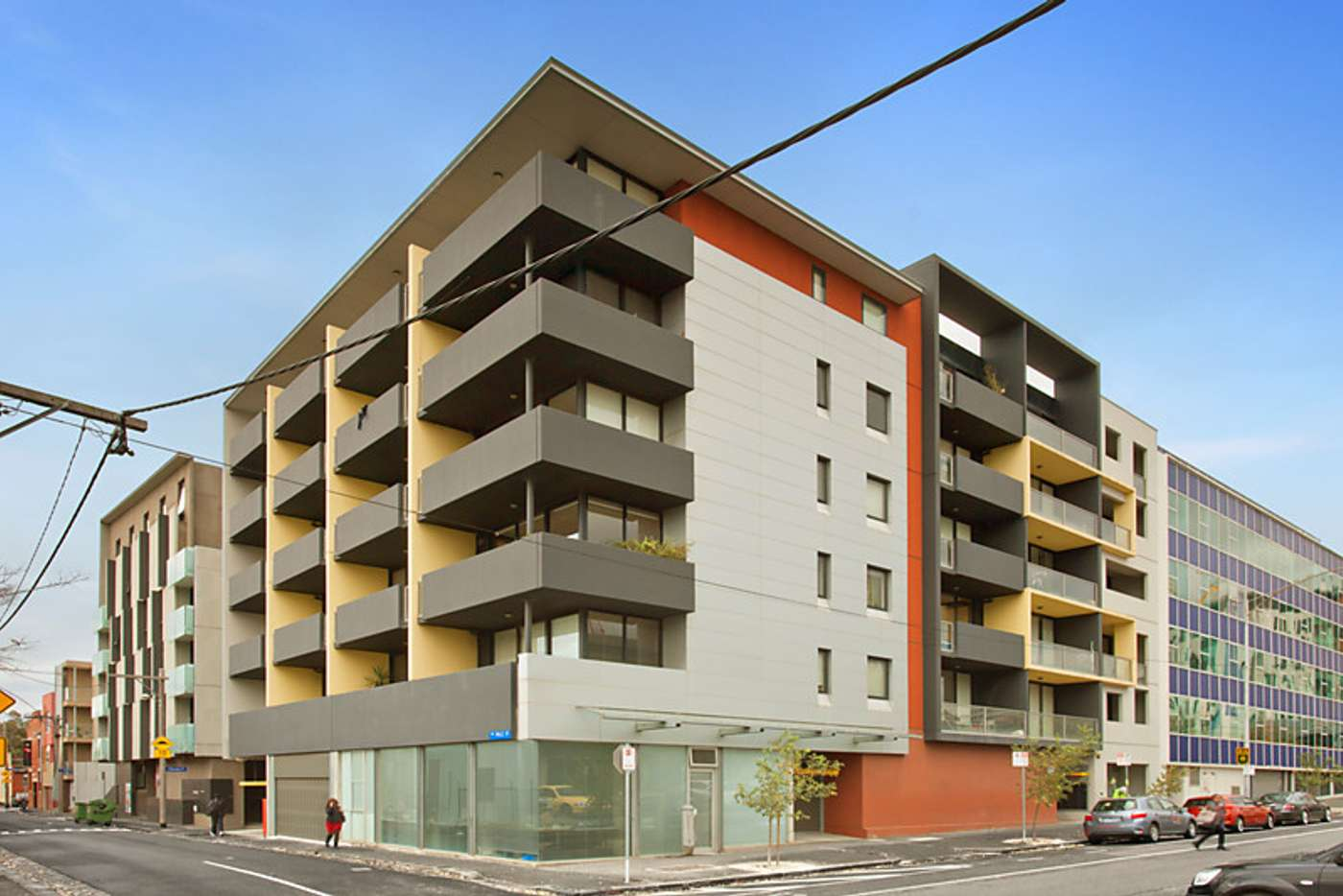 Main view of Homely apartment listing, 502/29-35 Wreckyn Street, North Melbourne VIC 3051