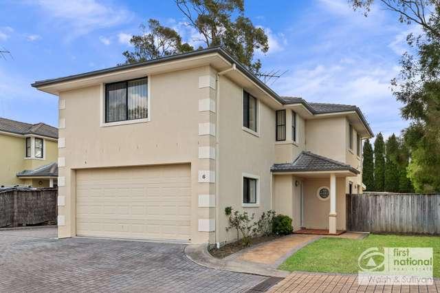 6/115 Cattai Creek Drive, Kellyville NSW 2155