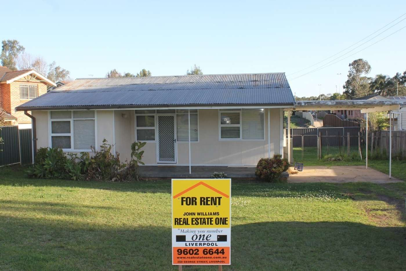 Main view of Homely house listing, 73 Stewart Ave, Hammondville NSW 2170