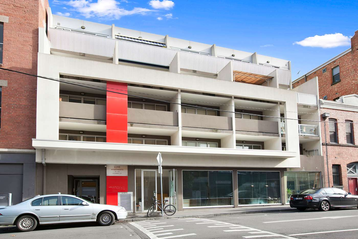 Main view of Homely apartment listing, 410/9-13 O'Connell Street, North Melbourne VIC 3051