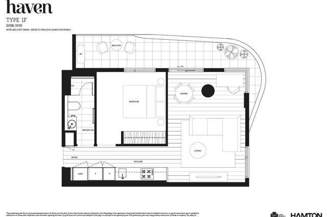 203/6 Acacia Place, Abbotsford VIC 3067