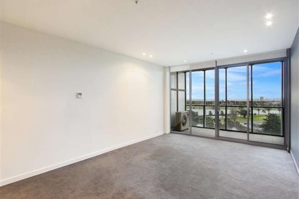 Second view of Homely apartment listing, 714/55 Queens Road, Melbourne VIC 3004