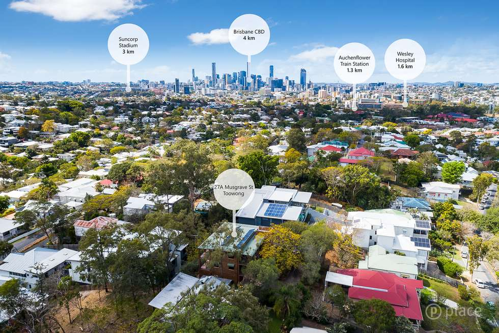 Second view of Homely house listing, 27A Musgrave Street, Toowong QLD 4066