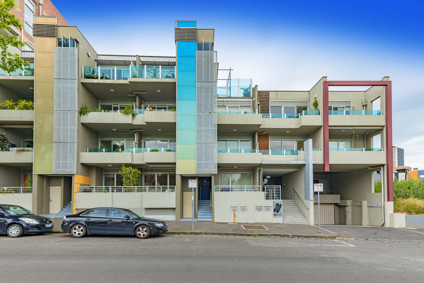 Main view of Homely apartment listing, 13/30 Chetwynd Street, West Melbourne VIC 3003