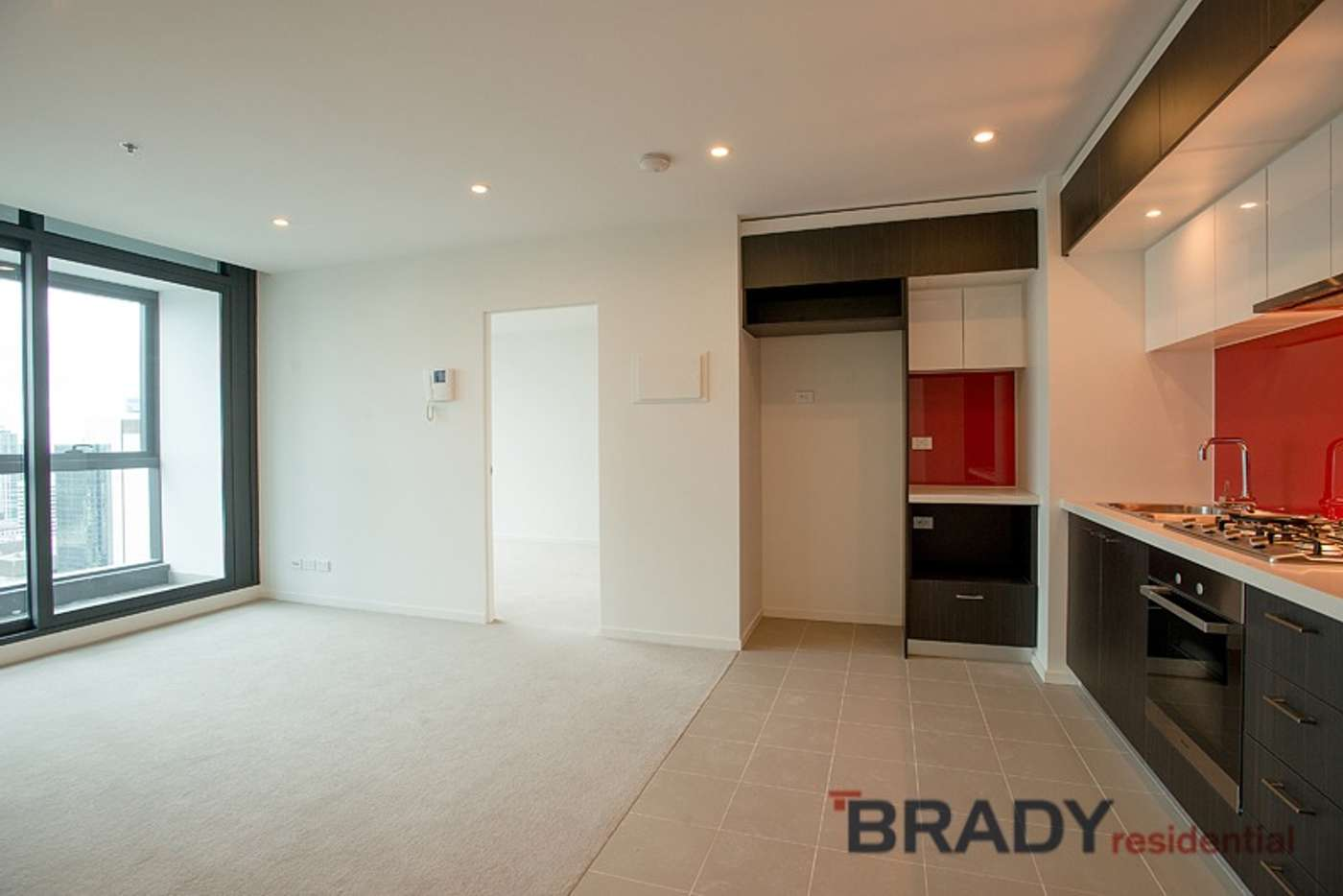 Main view of Homely apartment listing, 3801/8 Sutherland Street, Melbourne VIC 3000