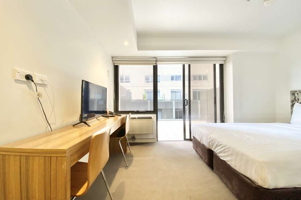 Second view of Homely studio listing, 432/572 St Kilda Road, Melbourne VIC 3004