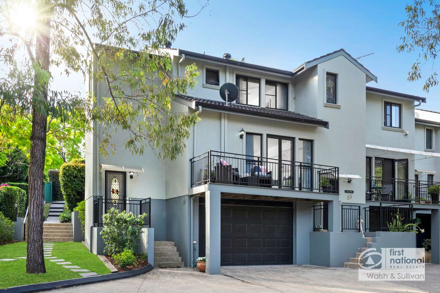Main view of Homely townhouse listing, 22/11-13 Pye Avenue, Northmead NSW 2152