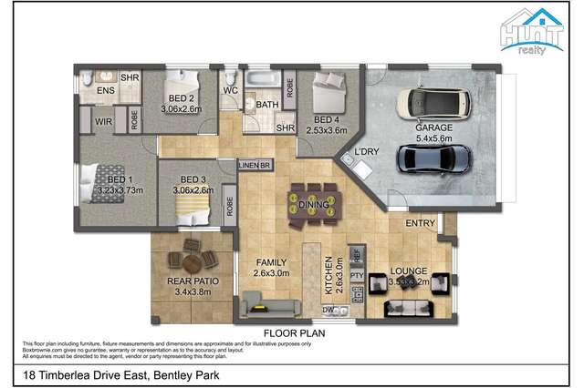 18 Timberlea Drive East, Bentley Park QLD 4869