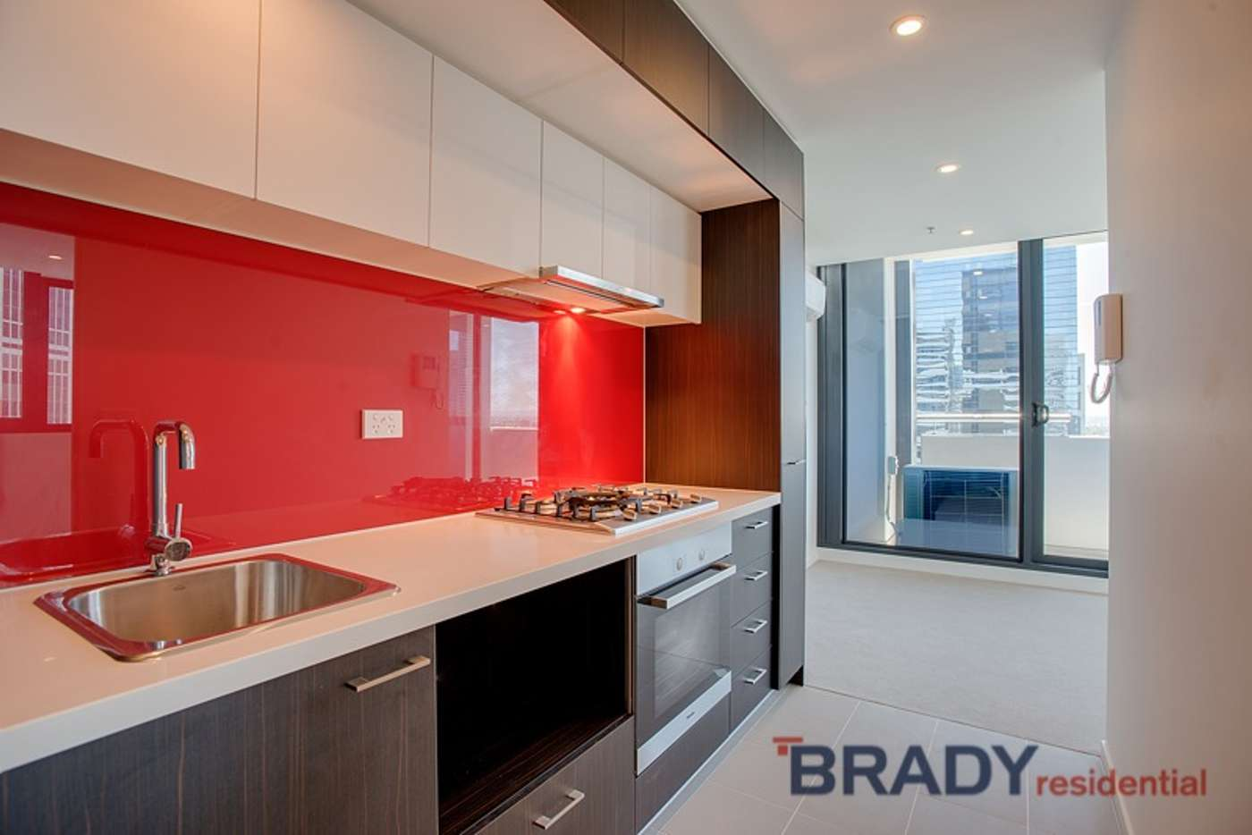 Main view of Homely apartment listing, 2807/8 Sutherland Street, Melbourne VIC 3000