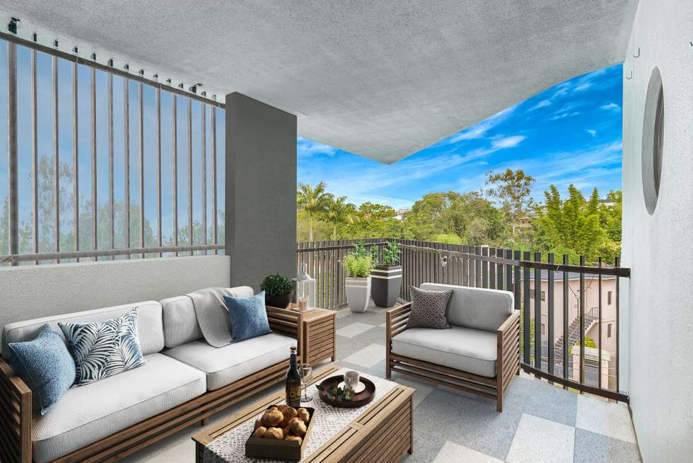 Fourth view of Homely apartment listing, 12/41 School Street, Kelvin Grove QLD 4059