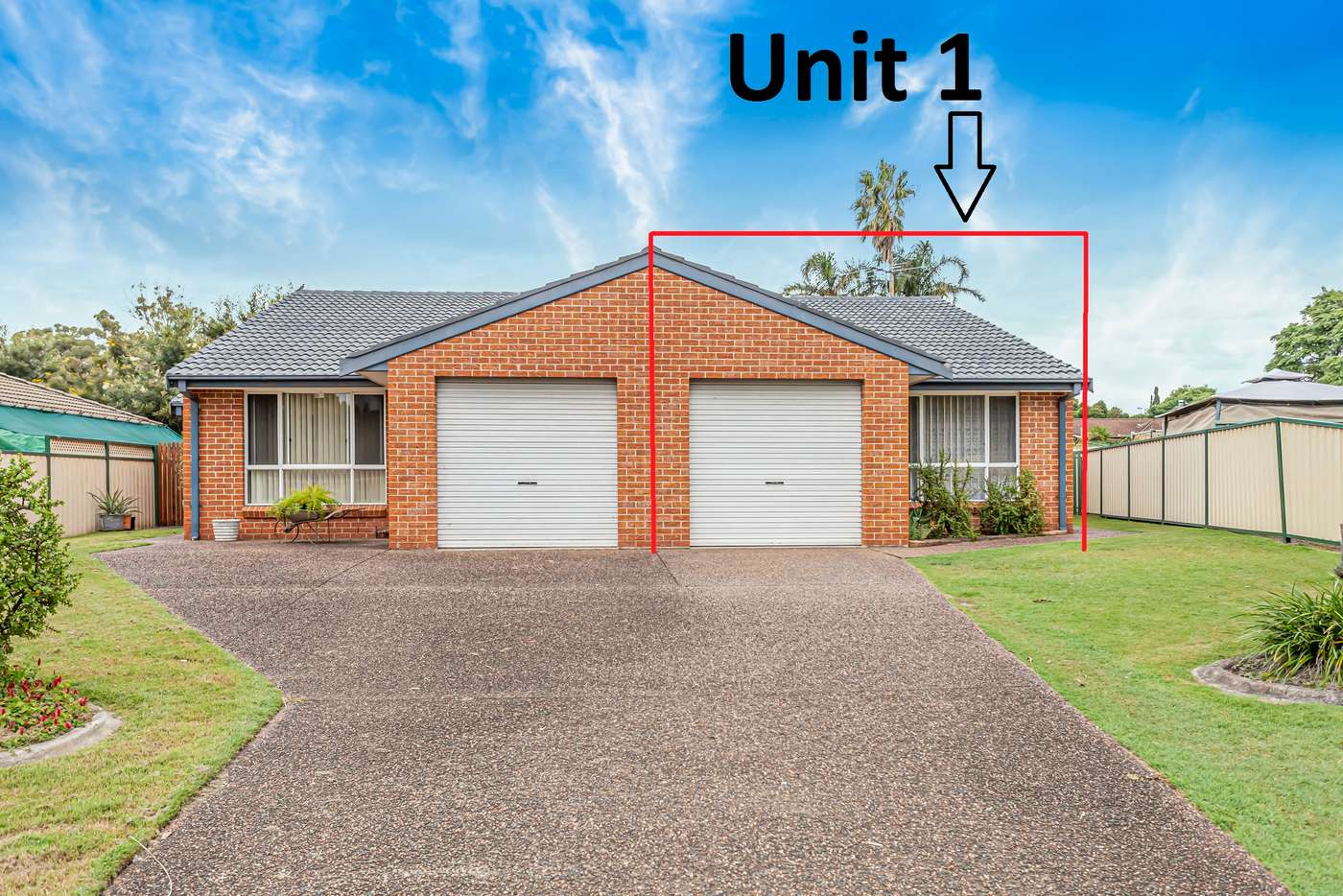 Main view of Homely unit listing, 1/10 Eskdale Drive, Raymond Terrace NSW 2324
