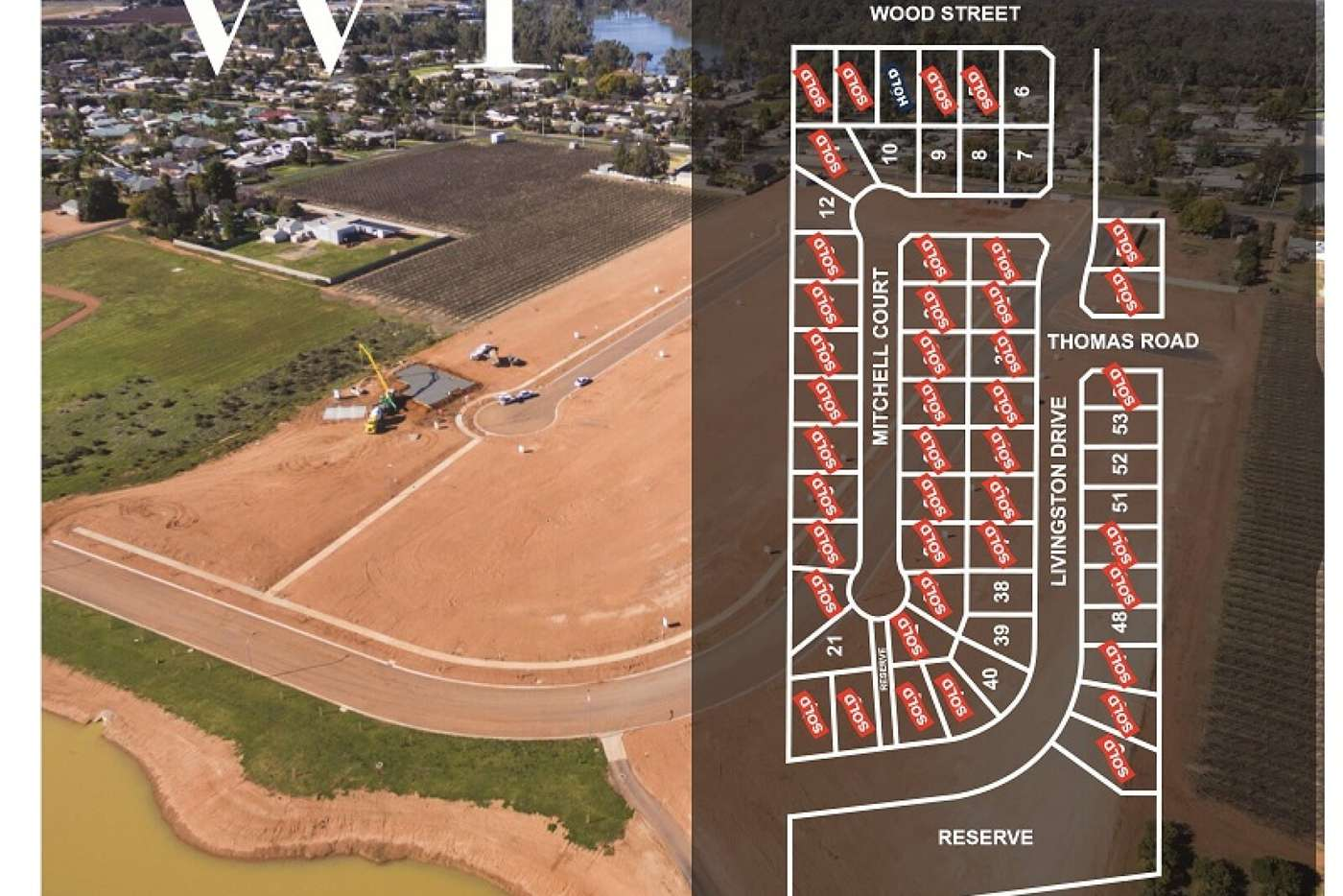 Main view of Homely residentialLand listing, Lot 52 Livingstone Drive, Gol Gol NSW 2738