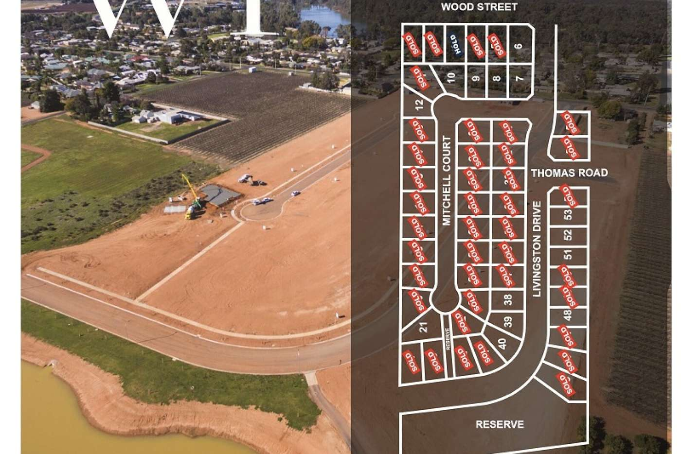 Main view of Homely residentialLand listing, Lot 53 Livingstone Drive, Gol Gol NSW 2738