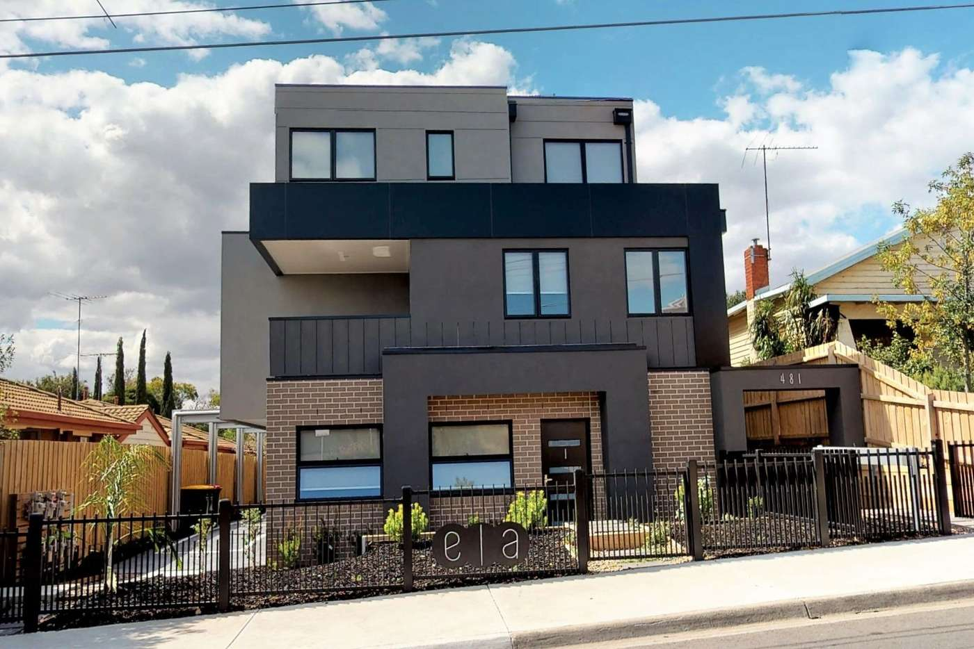 Main view of Homely townhouse listing, 2/481 Albion St, Brunswick West VIC 3055