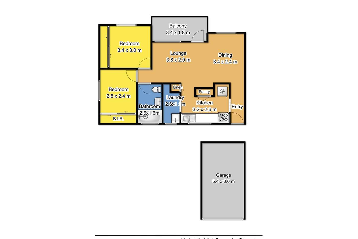 Seventh view of Homely unit listing, 12/64 Sproule street, Lakemba NSW 2195