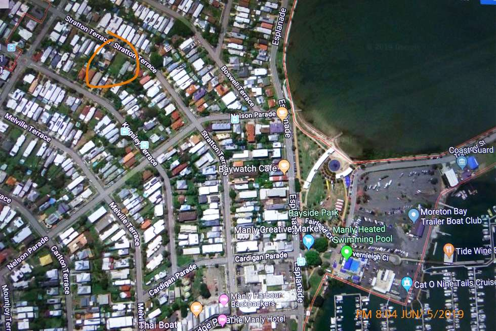 Second view of Homely residentialLand listing, 105 Stratton Terrace, Manly QLD 4179