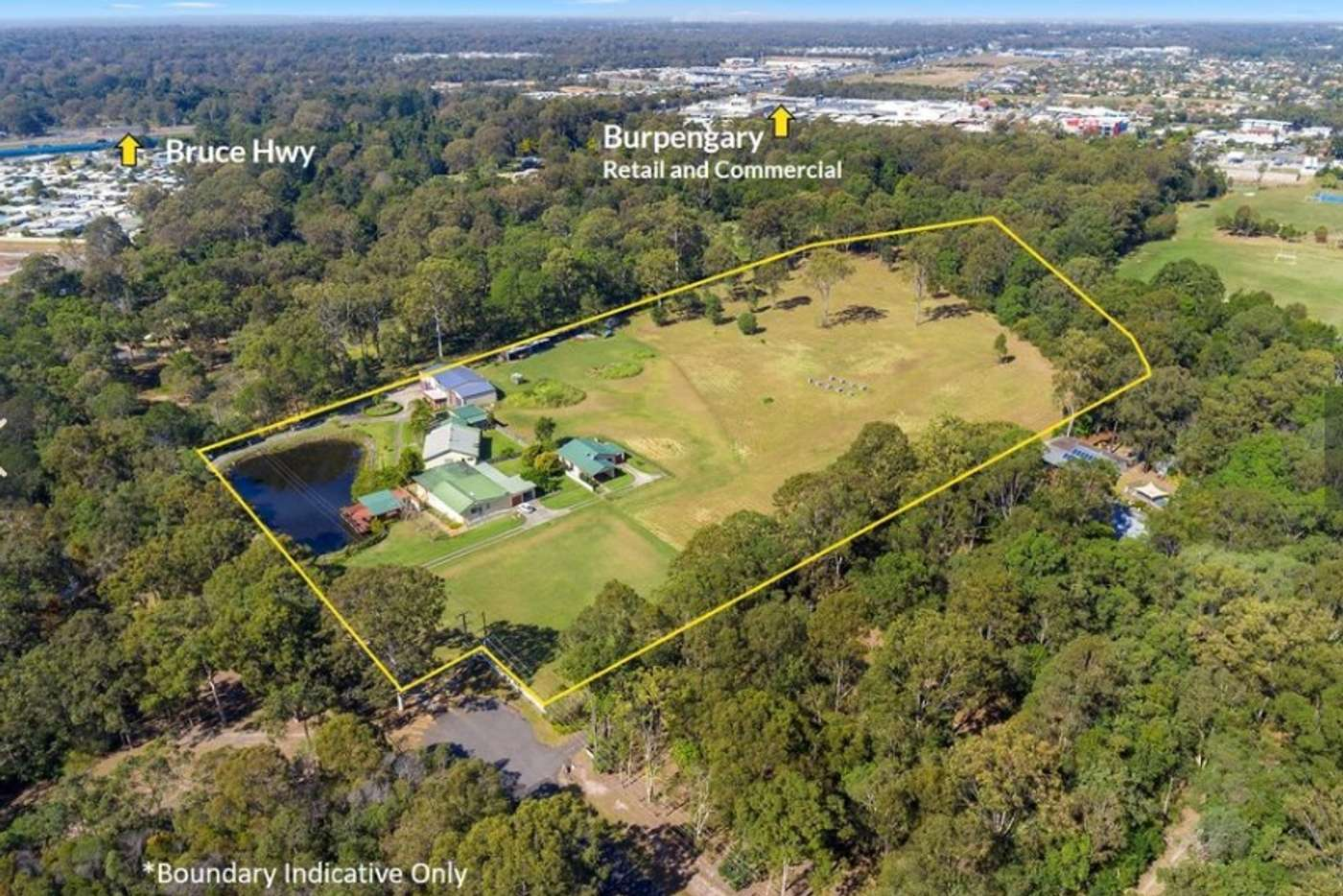 Main view of Homely acreageSemiRural listing, 120 Coutts Drive, Burpengary QLD 4505