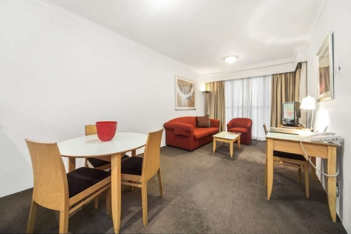Main view of Homely servicedApartment listing, 501/1-3 Hosking Place, Sydney NSW 2000