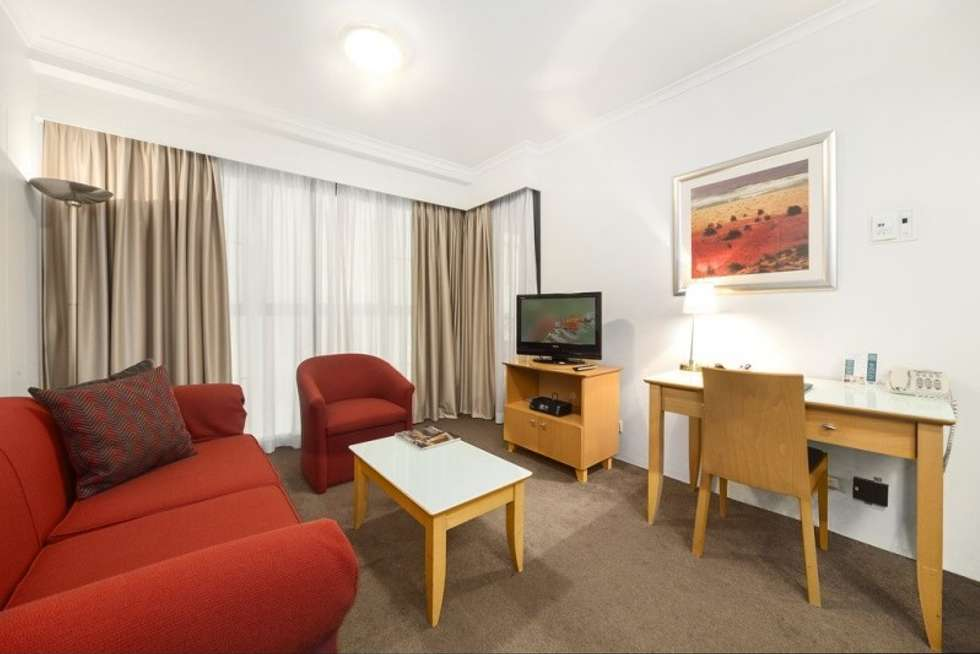 Second view of Homely servicedApartment listing, 501/1-3 Hosking Place, Sydney NSW 2000