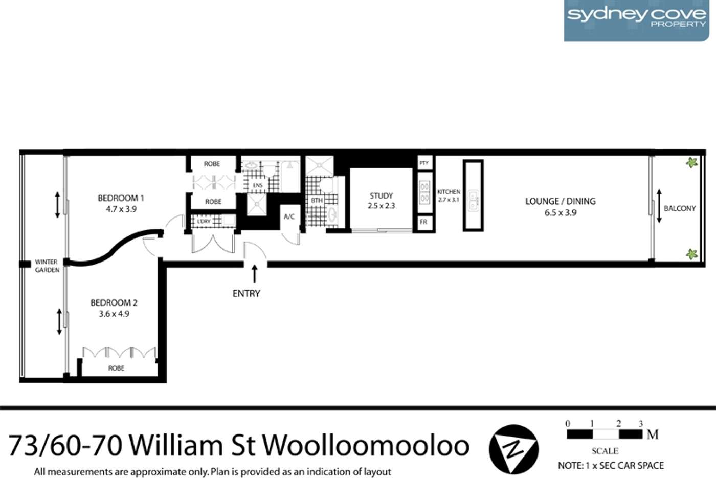 Seventh view of Homely apartment listing, 60 William St, Sydney NSW 2000