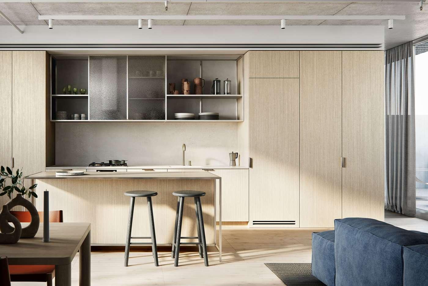 Main view of Homely apartment listing, 117/8 Ballarat Street, Brunswick VIC 3056