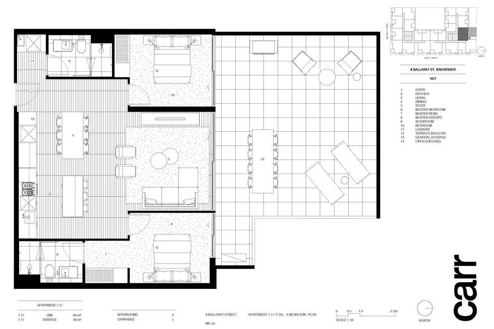 Second view of Homely apartment listing, 117/8 Ballarat Street, Brunswick VIC 3056