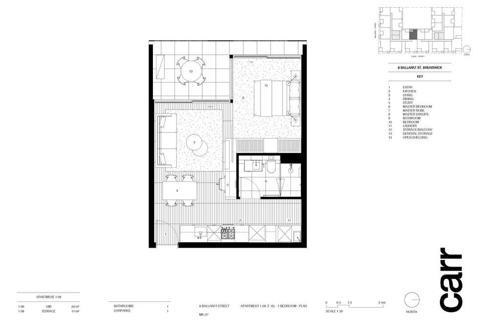 Second view of Homely apartment listing, 109/8 Ballarat Street, Brunswick VIC 3056
