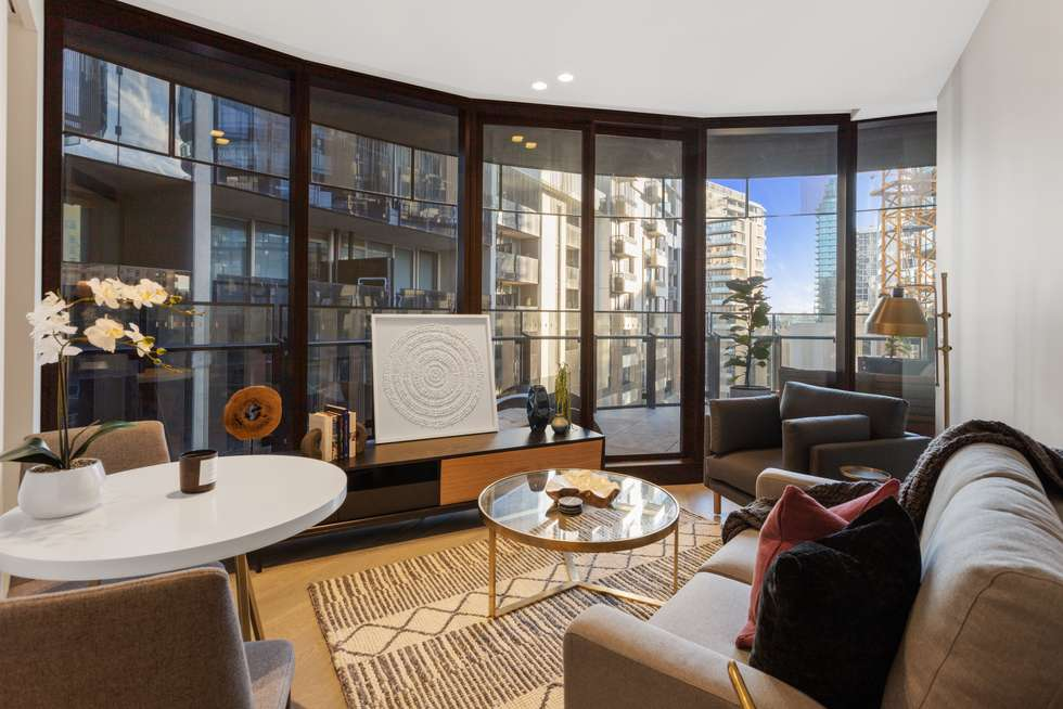 Second view of Homely apartment listing, 607/607/243 TOORAK ROAD, South Yarra VIC 3141
