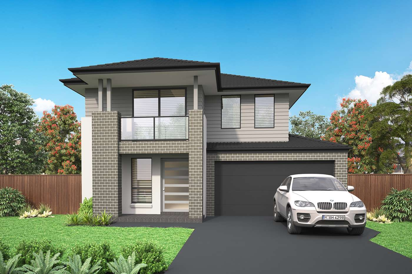 Main view of Homely house listing, Lot 411 Billets Way, Box Hill NSW 2765