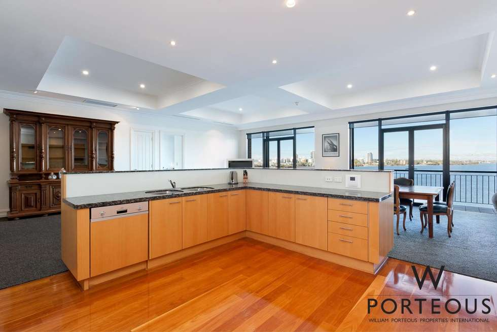 Third view of Homely apartment listing, 303/173 Mounts Bay Road, Perth WA 6000