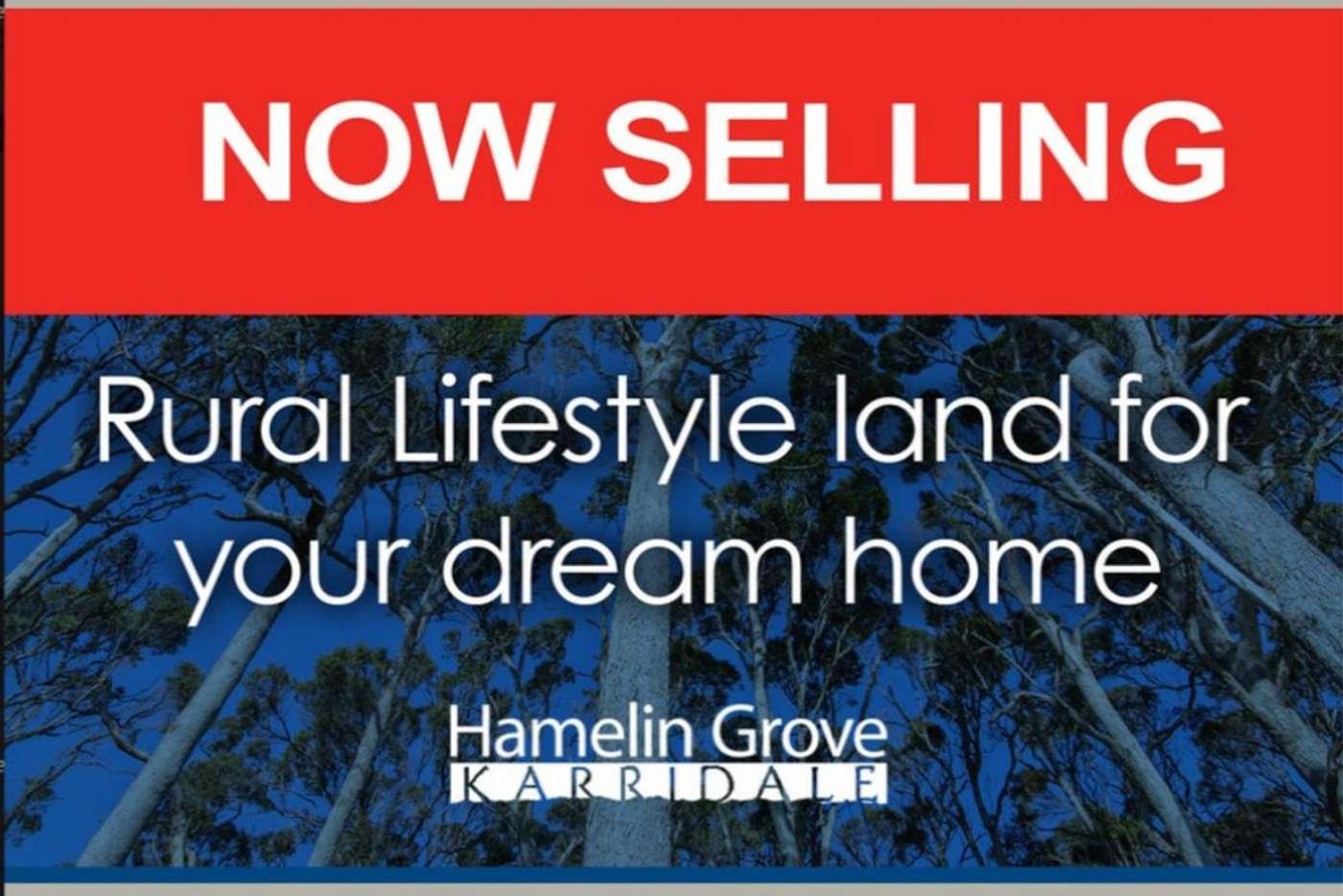 Main view of Homely residentialLand listing, Lot P/L 243, Felling Road, Karridale WA 6288