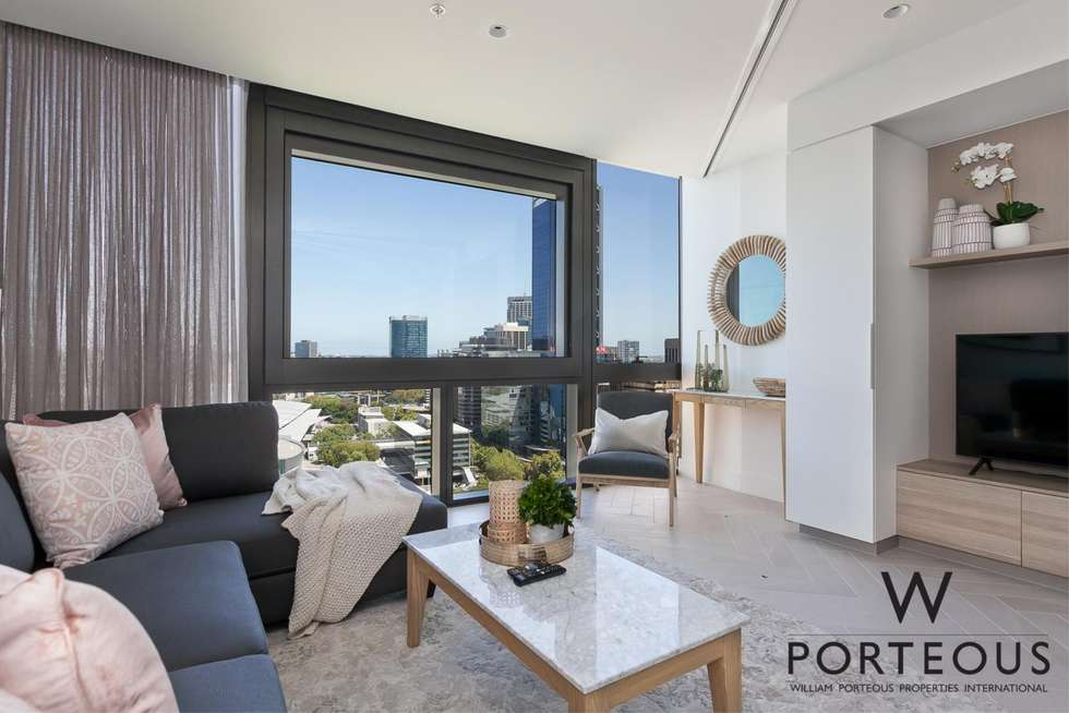 Second view of Homely apartment listing, 2306/1 Geoffrey Bolton Avenue, Perth WA 6000