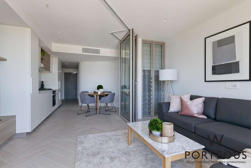 Fourth view of Homely apartment listing, 2306/1 Geoffrey Bolton Avenue, Perth WA 6000