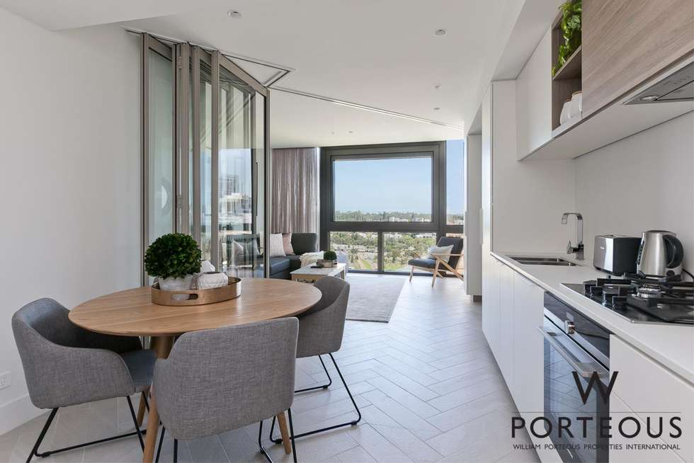 Fifth view of Homely apartment listing, 2306/1 Geoffrey Bolton Avenue, Perth WA 6000