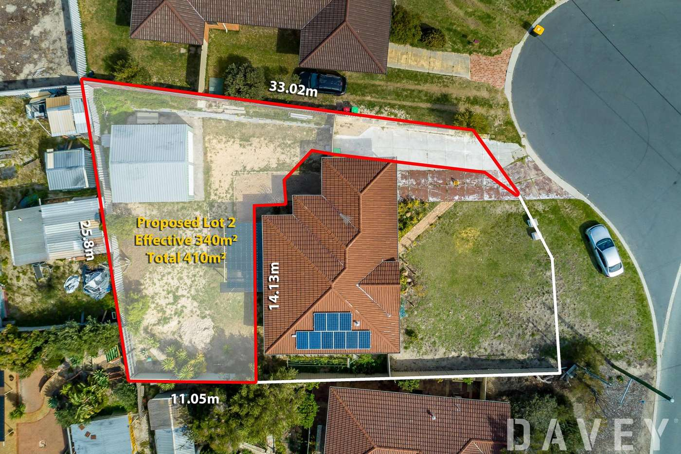 Main view of Homely residentialLand listing, 26A Christmas Avenue, Heathridge WA 6027