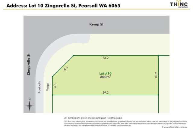 Lot 10 Zingarello Street, Pearsall WA 6065