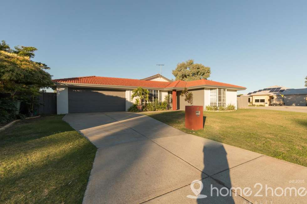 Second view of Homely house listing, 3 Mission Place, Cooloongup WA 6168
